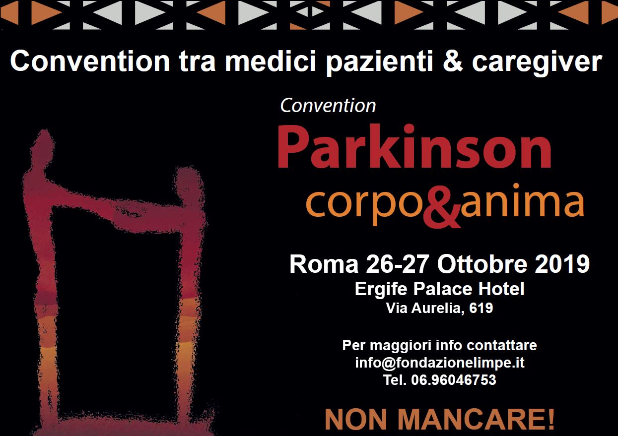 Convention Pazienti Parkinson Roma 2019